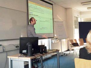 Dr. Thomas Strasser in Aktion (Credits für das Bild: Barbara Buchegger)