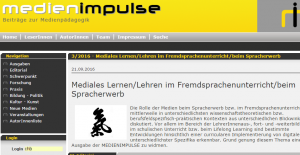 Cover medienienimpulse.at