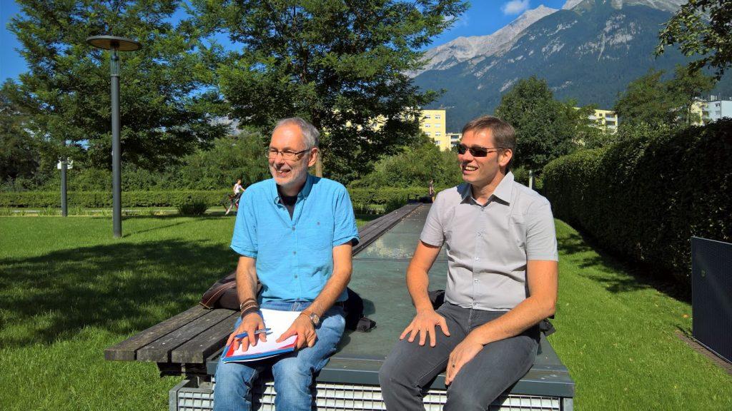 Michael Steiner und Klaus Himpsl-Gutermann