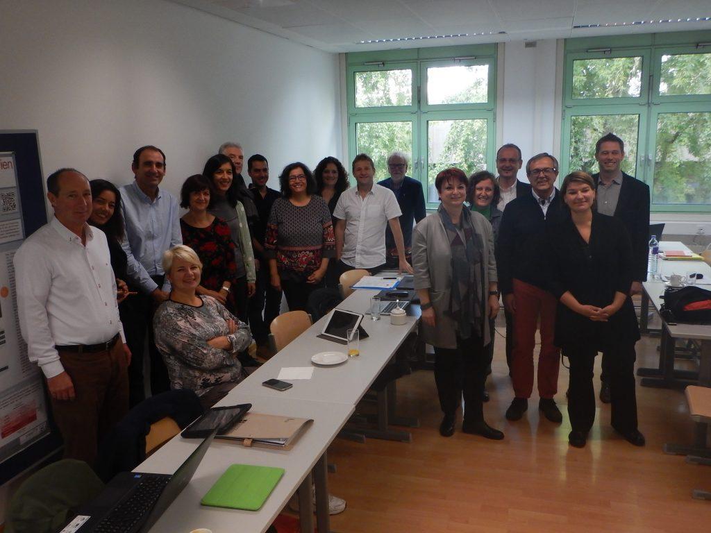 MCCPD-Projektmeeting an der PH Wien