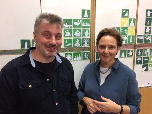 Rolf Laven und Gabriele Mayer-Frühwirth