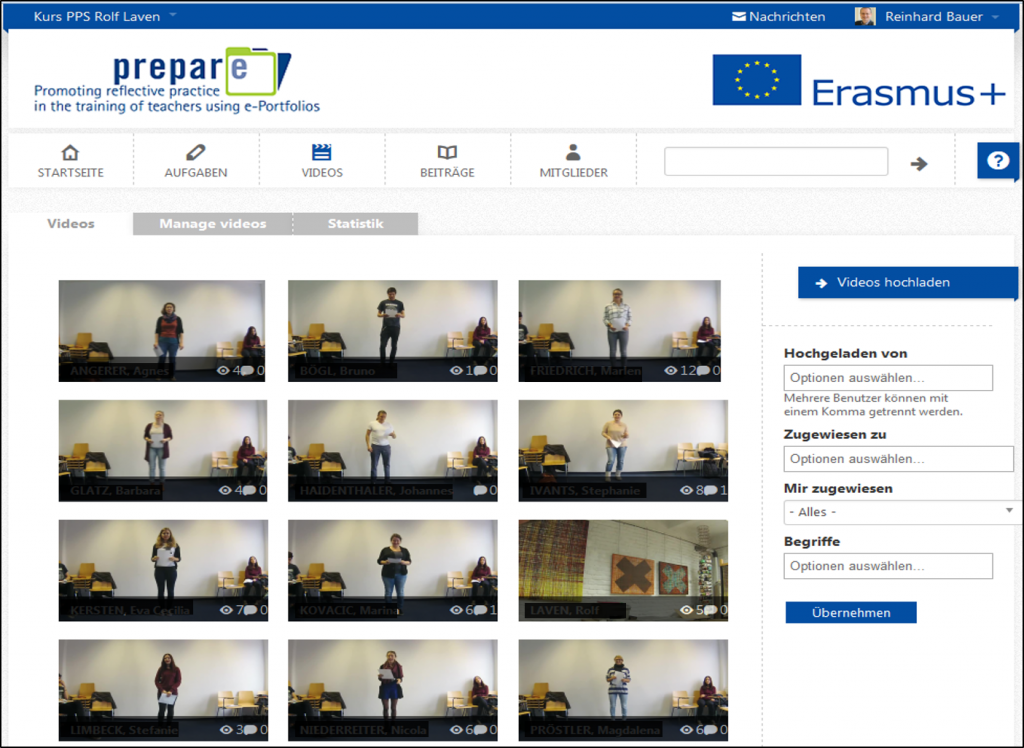 Screenshot aus dem edubreak®CAMPUS-Kurs von Rolf Laven