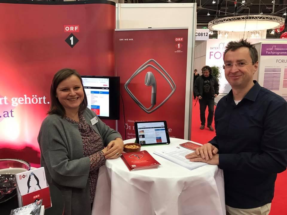 Teammitglieder Ruth Gutermann und Lothar Bodingbauer