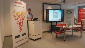 Pressetermin: ZLI beim Launch der Areeka Augmented Reality App