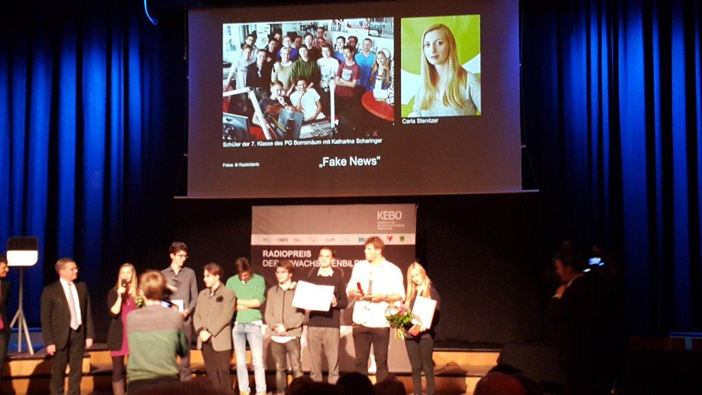 PreisträgerInnen beim Radiopreis der Erwachsenenbildung 2018