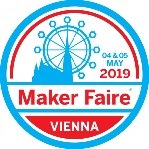 Logo Maker Faire Vienna 2019